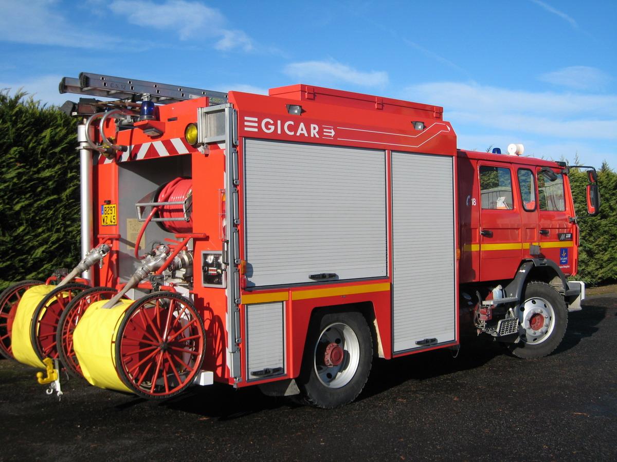 sauvetage pompier incendie